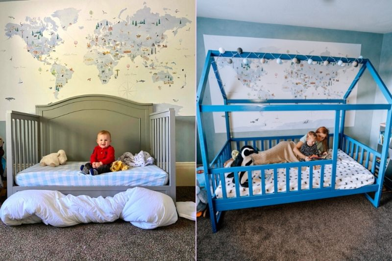 Transition From A Crib To Toddler Bed, When To Switch From Crib Bed